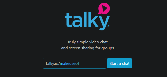 Talky Video Chat