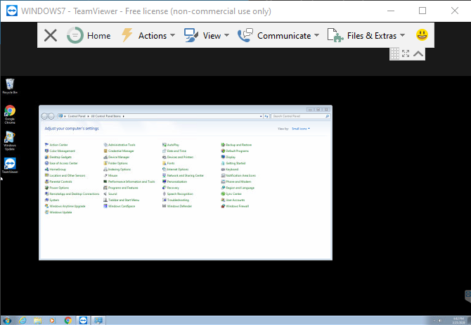 TeamViewer удаленное управление