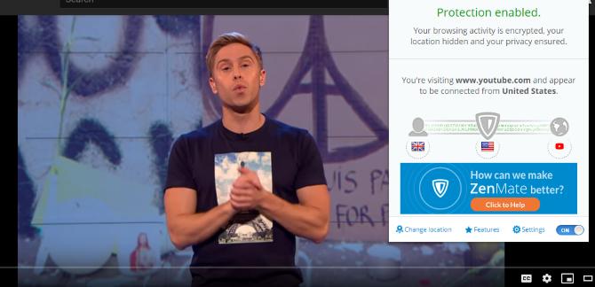 Обзор ZenMate VPN: размышление о вашей конфиденциальности Обзор ZenMate Chrome VPN