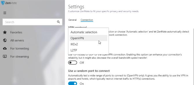 Обзор ZenMate VPN: размышление о вашей конфиденциальности Протокол обзора ZenMate