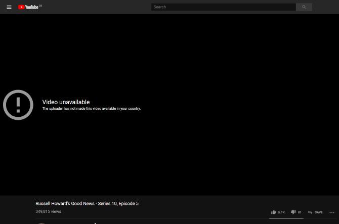 Обзор ZenMate VPN: размышление о вашей конфиденциальности Обзор ZenMate YouTube Block 1