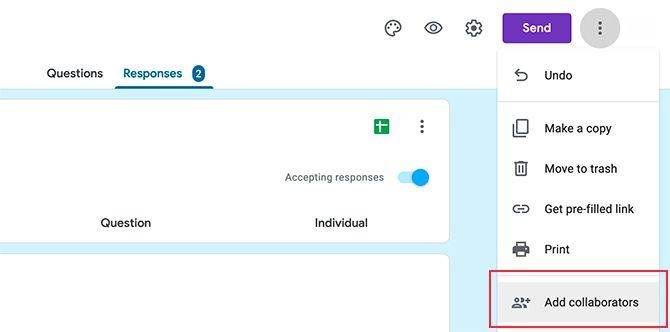 Преимущество формы Google Поделиться результатами Google Forms