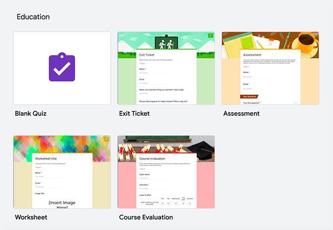 Важность форм Google для образования