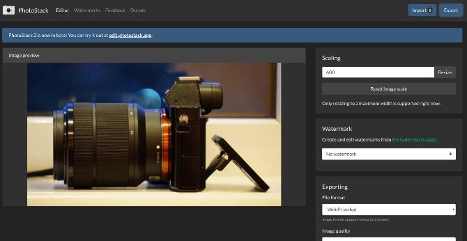 Пакетное изменение размеров изображений и добавление водяных знаков с Photostack