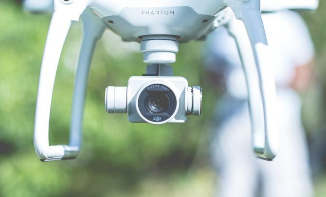 Prevent Drones Infringing on Your Privacy - drone camera