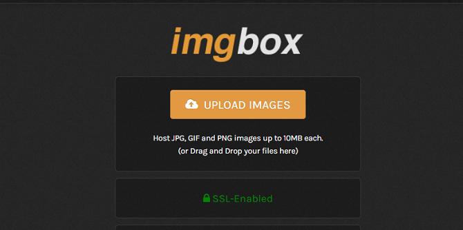 домашняя страница imgbox