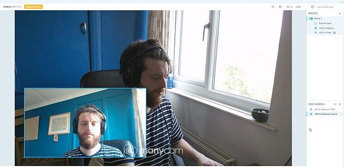 многокамерный двойной веб-камера Skype