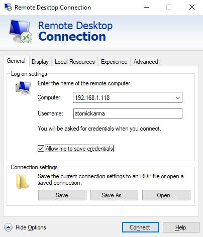 Удаленное подключение к Linux с RDP