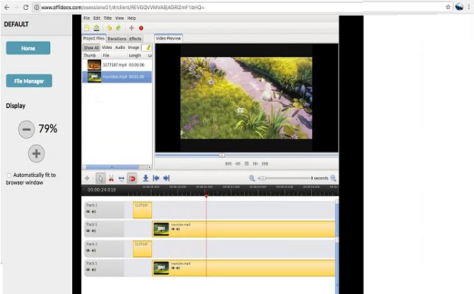 видеоредактор openshot