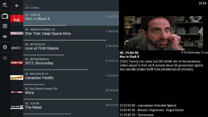 Отт Навигатор IPTV приложение Android