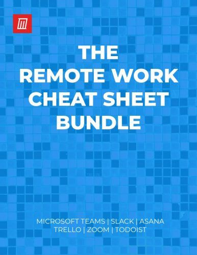 Download This Remote Work Cheat Sheet Bundle for Free!