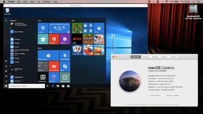 удаленный рабочий стол Windows Mac