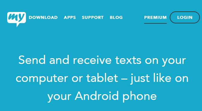 mysms Android Promo