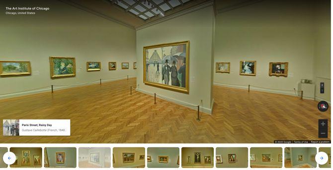 ChooseChicago Art Institute Виртуальный тур