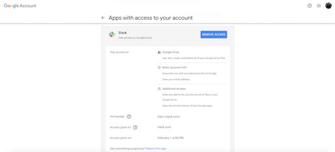 Сторонние приложения для аккаунта Google