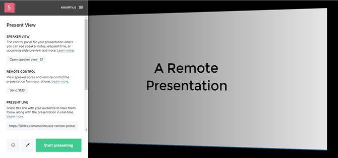 Слайды Удаленная презентация