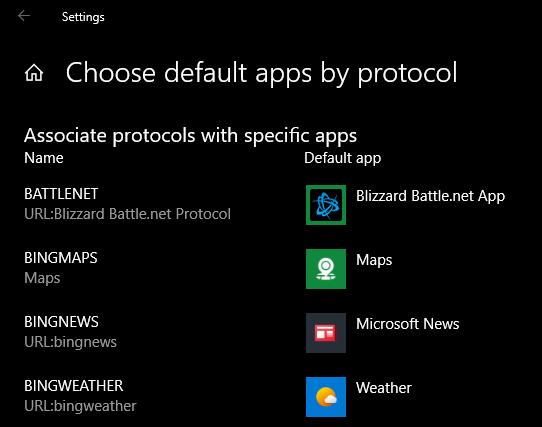 Приложения для Windows по протоколу