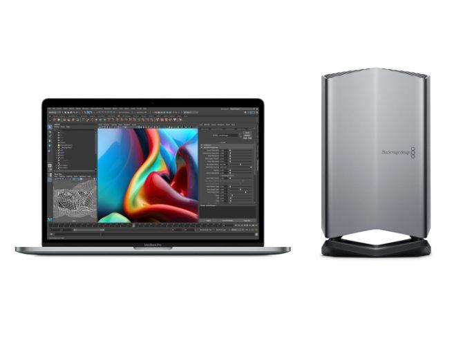 Лучший внешний графический процессор для MacBook Pro Blackmagic egpu