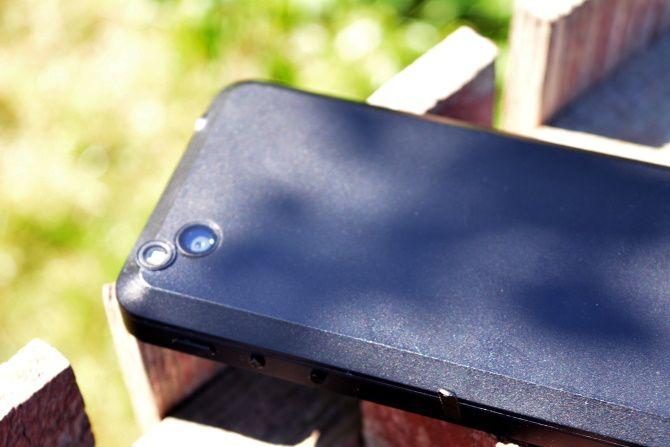 Back of the Librem 5 phone