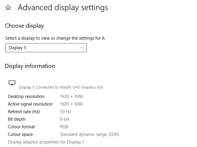 Optimize Windows 10 display settings for improved games
