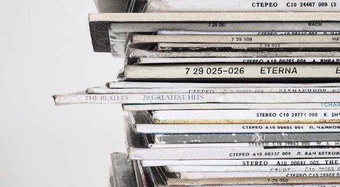 second hand vinyl records