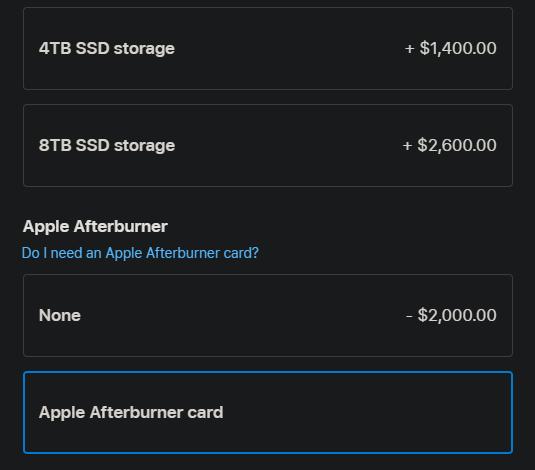 Apple Mac Pro upgrades
