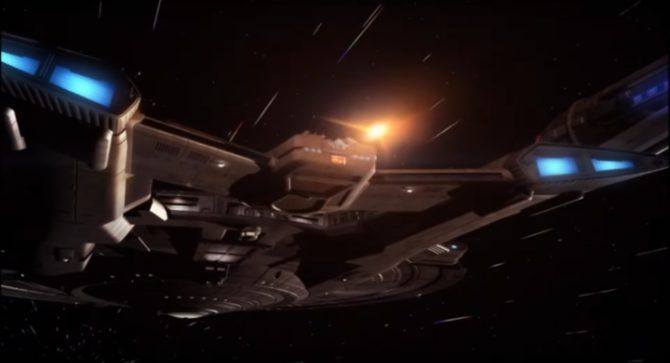 Photon torpedo from Star Trek