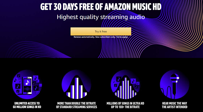 amazon music hd details