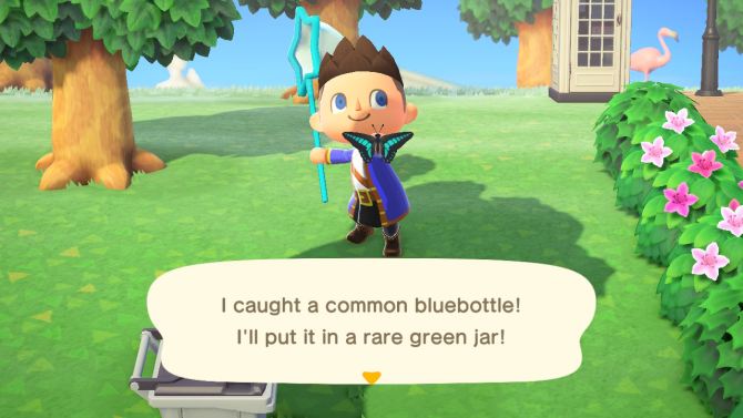 Animal Crossing: New Horizons bugs