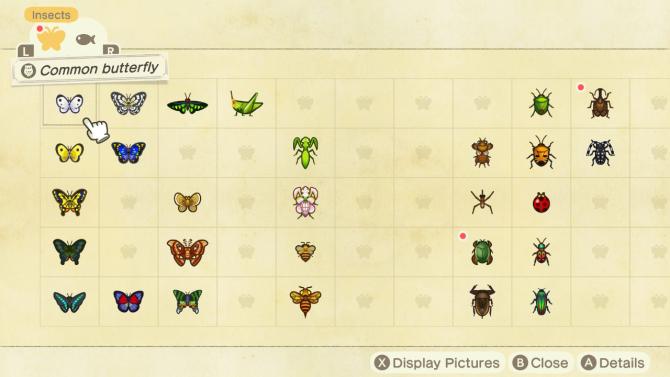 Animal Crossing Critterpedia
