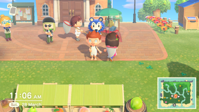 Animal Crossing: New Horizons friends
