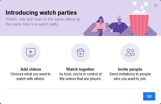Обзор Facebook Watch Party