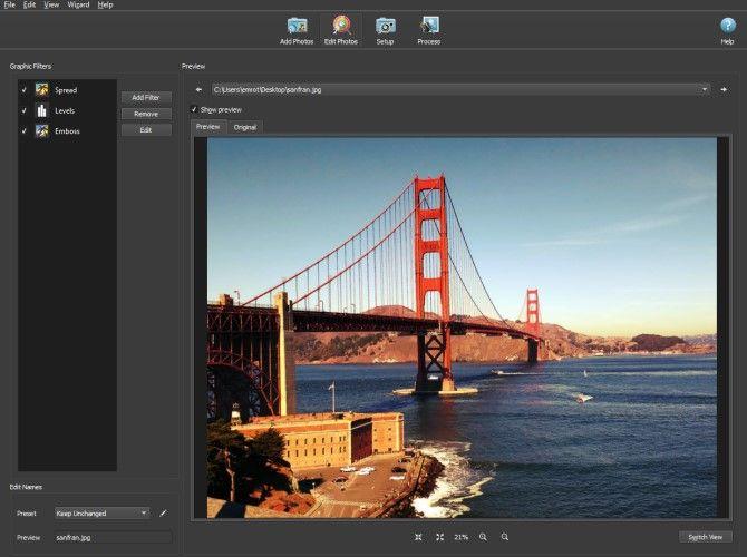 BatchPhoto Instagram Filter Desktop App