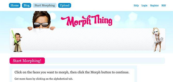 Morph Thing Morph Faces Интернет