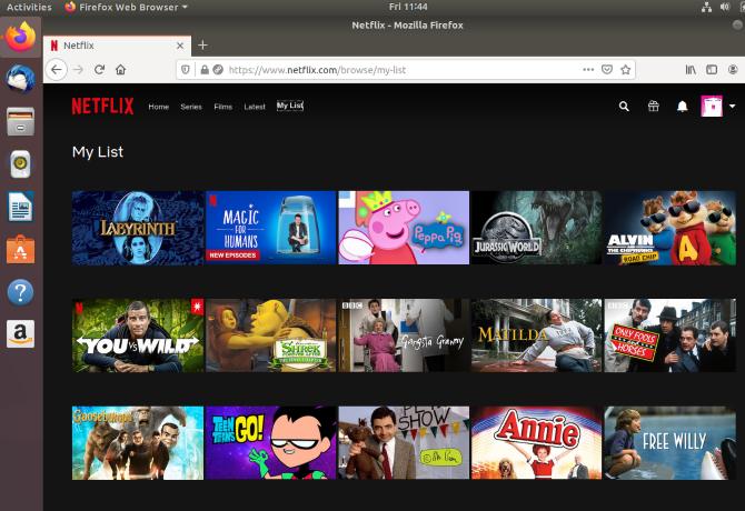 Access your Netflix watchlist on Linux