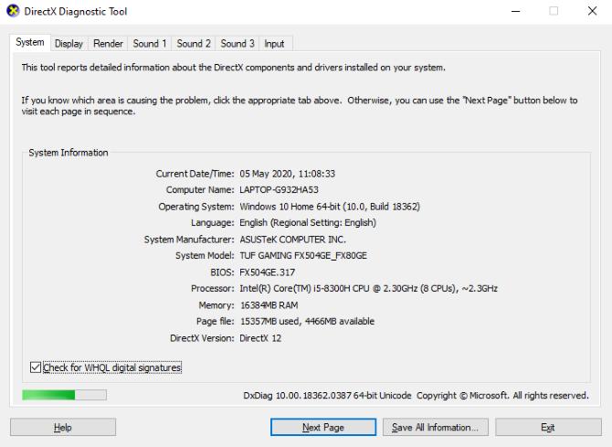 Обновление DirectX для устранения проблем с видеочатом в Skype