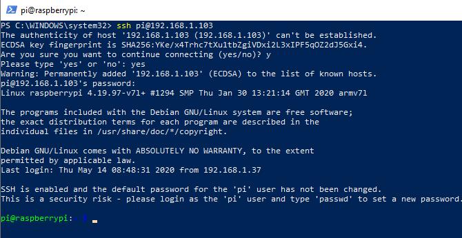 Use Windows PowerShell as an SSH client
