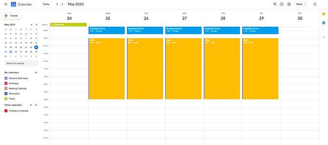 Почему я должен использовать Google Calendar