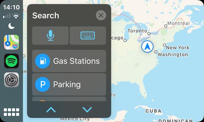 CarPlay Apple Maps