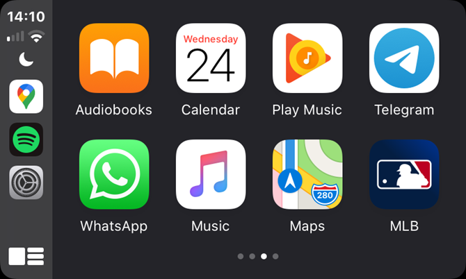 CarPlay App Drawer