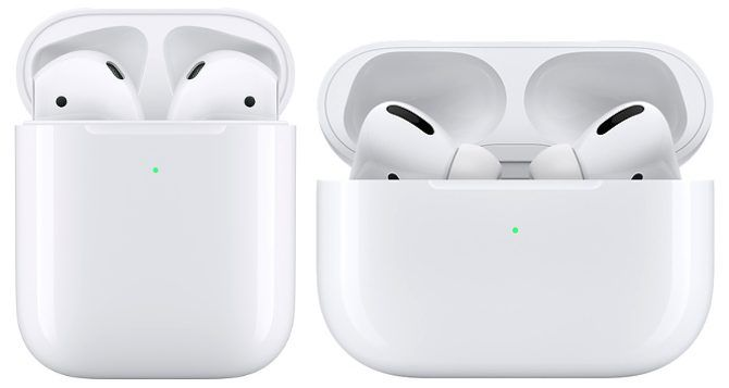 AirPods and AirPods Pro