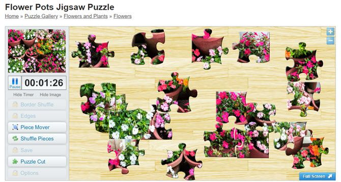 Free online jigsaw puzzles at Crazy4Jigsaws