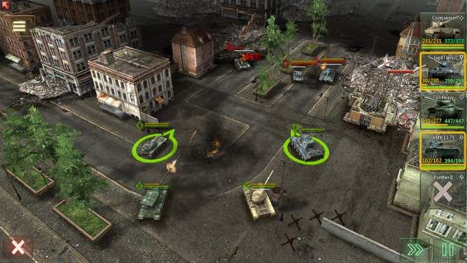 A screenshot of Armor Age