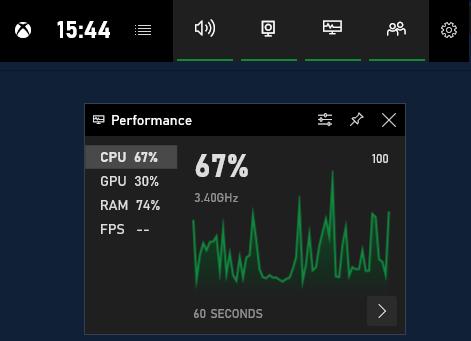 Windows 10 FPS Counter Xbox