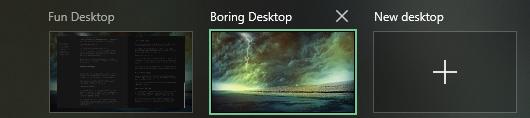 Windows 10 rename virtual desktops