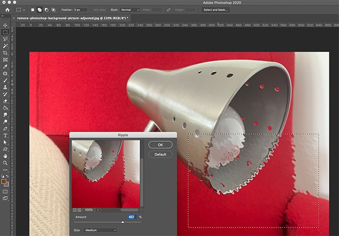 What Are the Filters in Photoshop Like Ripple Effect