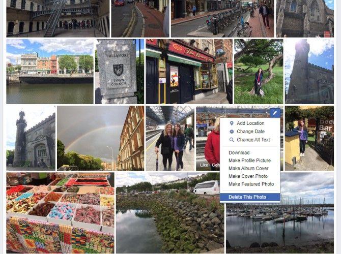 Delete Multiple Photos From Facebook Album