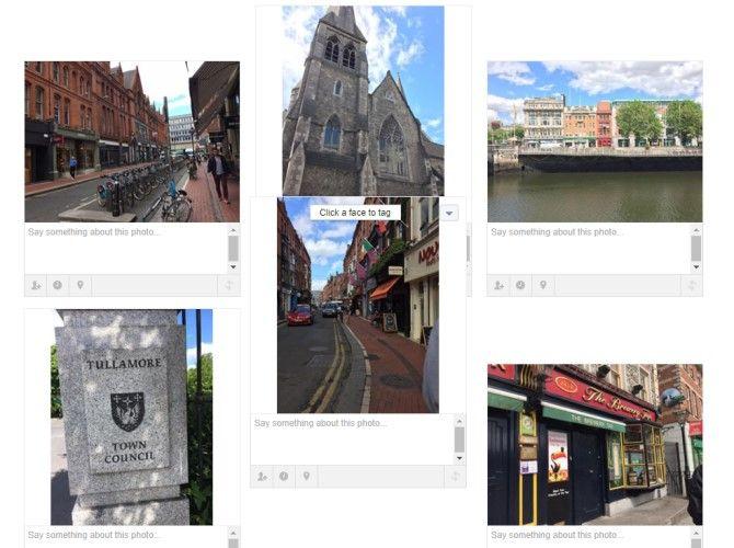 Arrange Facebook Album Photos