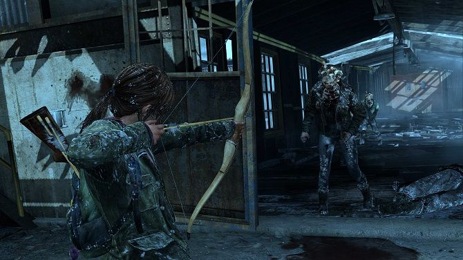 ellie last of us infected