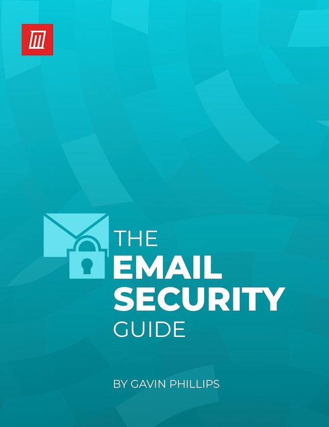 Email security PDF cover image
